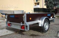 Rimorchio Tedesco Bathau GL 251x126 Antique Cars, Vehicles, Shopping, Italia, Vintage Cars, Car, Vehicle, Tools