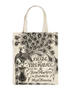 Share us with your friends and get an instant coupon code for $5 off your purchase! Pride and Prejudice tote bag – Out of Print