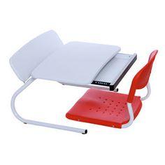 Hyundai Hmall korea new floor sitting white desk red chair reading desk