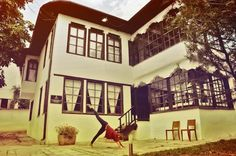 This is the main family house where you can learn all about the cycle of life as lived and depicted by the Kosovar-Albanian culture. In this house there is a room for each cycle in life—one that shows you the birth, life and death rituals of the culture.