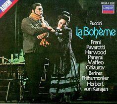 La Bohème: Pavarotti, Freni and von Karajan. Exquisite!