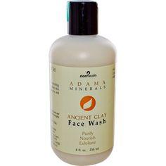 iHerb.com - Customer Reviews -Zion Health, Adama Minerals, Ancient Clay Face Wash, 8 fl oz (236 ml)