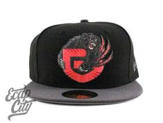 Custom Infrared Vancouver Grizzlies NEW ERA 59FIFTY Fitted Cap by NEW ERA x  NBA b072a8bbfe5