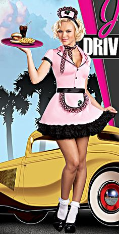 sexy waitress outfit - Google Search