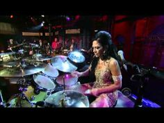 Sometimes female drummers don't get enough attention!  Check out this awesome Drum solo from Sheila E.  Sheila E. on Drum Solo Week on Letterman 06/07 Music For You, Sound Of Music, Live Music, Female Drummer, Sheila E, Drums Beats, Music Videos, Videos Solo, Drum Solo