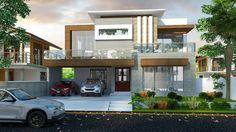 More Bungalow Exterior, Dream House Exterior, Modern Exterior, Exterior Design, House Exteriors, New House Plans, Dream House Plans, Modern House Plans, Best Modern House Design