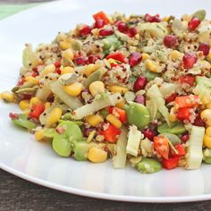 Fennel, Quinoa and Broad Bean Salad