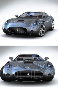 The Ferrari California was unveiled at the 2008 Paris Motor Show. The car went into production in 2008 and is still being produced by Ferrari. The car is available as a 2 door grand tourer coupe and as a hard top convertible. Luxury Sports Cars, Luxury Auto, Sexy Cars, Hot Cars, Maserati Biturbo, Porsche Autos, Porsche 911, Ferrari Car, Ferrari 2017