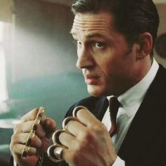 Tom Hardy as Reggie Kray in Legend....lawd have mercy