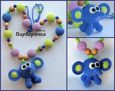 Nursing necklace Breastfeeding necklace with por ForYourHappyBaby