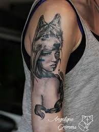 What does indian tattoo mean? We have indian tattoo ideas, designs, symbolism and we explain the meaning behind the tattoo. Native American Tattoos, Native Tattoos, Indian Tattoos, Wolf Tattoo Design, Tattoo Designs, Body Is A Temple, Head Tattoos, Skin Art, Watercolor Tattoo
