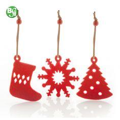 Set di ornamenti per albero di Natale 9 pezzi. Con 3 tipi di ornamenti contenuti in una scatola di carta bianca.  #christmastree #gadget #alberodinatale #gadgetpersonalizzati #christmastree #decorazioni #natale