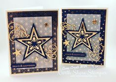 Stitched Stars was perfect for creating these holiday beauties! Grab these does as part of a bundle before their coordinating stamp set… Christmas Mom, Christmas Cards To Make, Christmas Makes, Handmade Christmas, Christmas Stars, Christmas 2019, Pinterest Christmas Cards, Scrapbook Christmas Cards, Star Cards