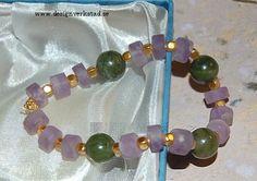 Armband+med+Ametist+/+Jade