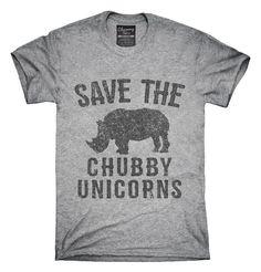 Save The Chubby Unicorns Rhino T-Shirt, Hoodie, Tank Top