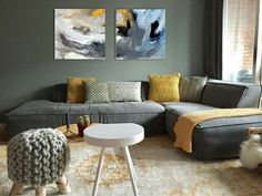 abstract art interior design decorative