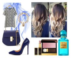 """Без названия #29"" by mashulya-bobkova ❤ liked on Polyvore featuring Tom Ford, Posh Girl, Chloé and Givenchy"