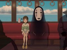 """""""Spirited Away"""" Related Post 61 Studio Ghibli Tattoos Inspired By Miyazaki Film. 17 years old and not someone you wa. 22 Tattoos inspired by the Hayao Miyazaki Films I haven't done or thought about macrame for . Art Studio Ghibli, Studio Ghibli Wallpaper, Studio Ghibli Films, Hayao Miyazaki, Film Animation Japonais, Animation Film, Mouth Cartoon, Spirited Away Wallpaper, Storytelling Techniques"""