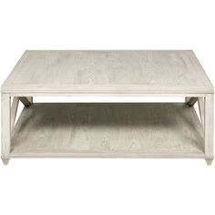 Paden Coastal Beach Washed Wood Coffee Table ($2,110) ❤ liked on Polyvore featuring home, furniture, tables, accent tables, coffee tables, decor, white wood coffee table, white tables, wood accent table and wooden cocktail tables