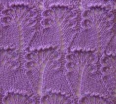 What a beautiful stitch pattern!Knitting pattern on Russian site, but with a stitch diagram.The unusual pattern of spokes Knitting Room, Lace Knitting Stitches, Lace Knitting Patterns, Knitting Charts, Lace Patterns, Loom Knitting, Knitting Designs, Hand Knitting, Stitch Patterns