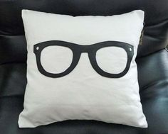 This throw pillow would coordinate nicely with your HoodiePillow pillowcase: Geek Pillow For College Dorm by PillowThrowDecor on Etsy