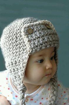 So frickin  cute for my grandson Ganchillo Gorros 6083650c8df