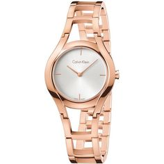 Calvin Klein Women s Rose Gold Stainless Steel Watch, K6R23626 (€280) ❤  liked 8ee45b2148