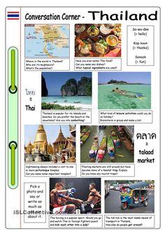 Conversation Corner: Thailand
