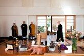 In the zendo, buddist ceremony