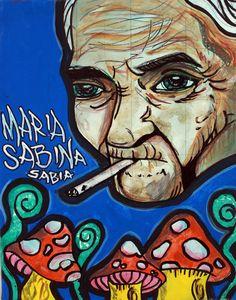 Pequeño poster de María Sabina
