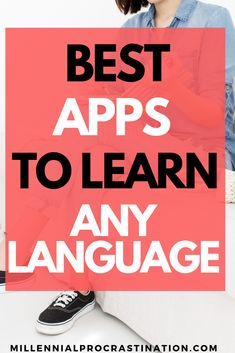 Wanting to learn a new language? Check out these top apps to learn any language today! Best Language Learning Apps, Learning Languages Tips, Learning Websites, Spanish Language Learning, Languages To Learn, Best Learning Apps, Languages Online, Educational Websites, Language Study
