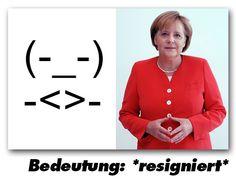 Neu im Internet - Das Merkel-Emoticon | Dressed Like Machines