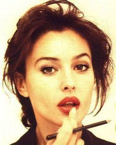 Monica Belluci. In the flesh, she took my breath away.
