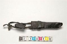 A medieval case (probably a penner) Visa bild | Sök i samlingarna | Historiska museet