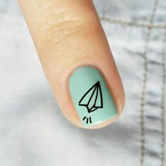 ✈✈✈✈✈✈✈✈✈ @essiede @essiepolish #notd #nails #nailart