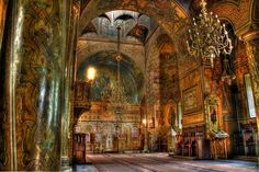 Sinaia Monastery, Romania {I've been to Sinaia, but did not see the Monastery... maybe someday!}