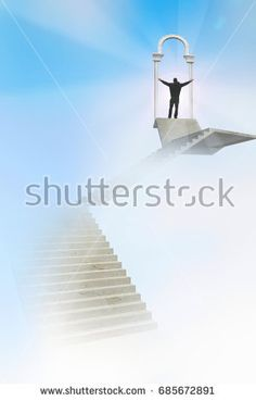 Stairway to Success concept