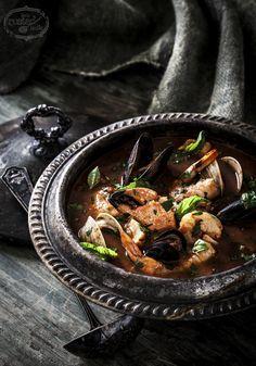 Cioppino Seafood Stew Soup   littlerustedladle.com   #foodphotography #foodstyling #cioppino