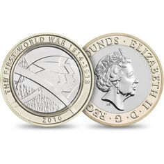 Yet another WW I commemorative coin, this for 2016 Mint Coins, Silver Coins, Rare British Coins, English Coins, Coin Design, Old Money, Commemorative Coins, Proof Coins, Coin Collecting