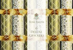 Buy Cream& Gold Traditional Tom Smith Crackers now available online. Ideal for retailers to buy in trade quantities and wholesale.