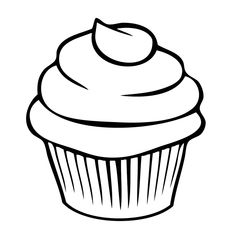 Výsledok vyhľadávania obrázkov pre dopyt cupcake kleurplaat