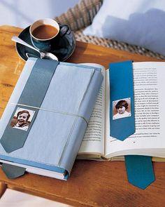 Marcador de livro - fazer com couro