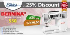 Bernina 550 #sewing #machine #online #shopping #discount #sale #MySewingMall
