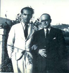 Constantino Ruiz Carnero y Federico García Lorca.