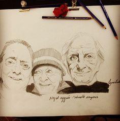 #emektar #sinema #art #saygı #draw #portrait #çizim #portre #mywork bazı insanlar unutulmamalı :)