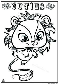 littlest pet shop coloring pages cuties.html