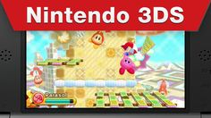 Nintendo 3DS - Kirby: Triple Deluxe - Oh Kirby, You're So Silly Trailer