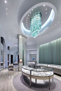 Tiffany & Co. located in Taipei, Taiwan - GRADE NEW YORK - Architecture and Interior Design Firm