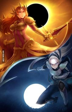 Leona and Diana | League of Legends