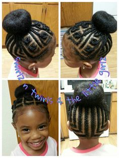 ★ Natural Kids Hair Style